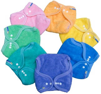 Mother-ease One Size Cotton (Rainbow) Nappies